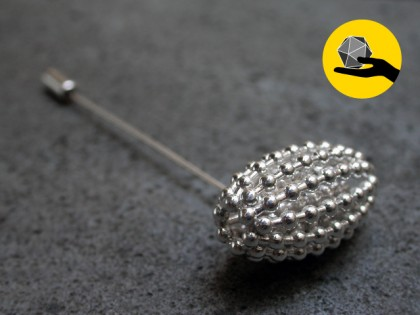 COULOMB CRYSTAL / BROOCH