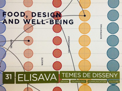 "PUBLISHED ""FOOD PRINTING"" ARTICLE AT ELISAVA TdD no.31"